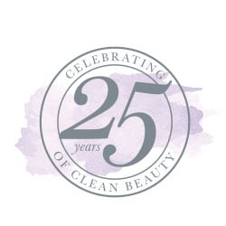 Celebrating 25 years of clean beauty