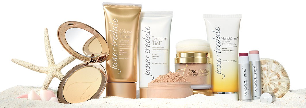 The SPF Collection Foundations, Hand Cream and Lip Balm