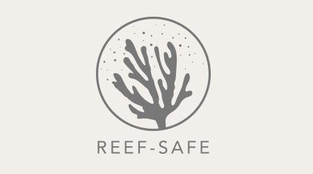 Reef safe logo