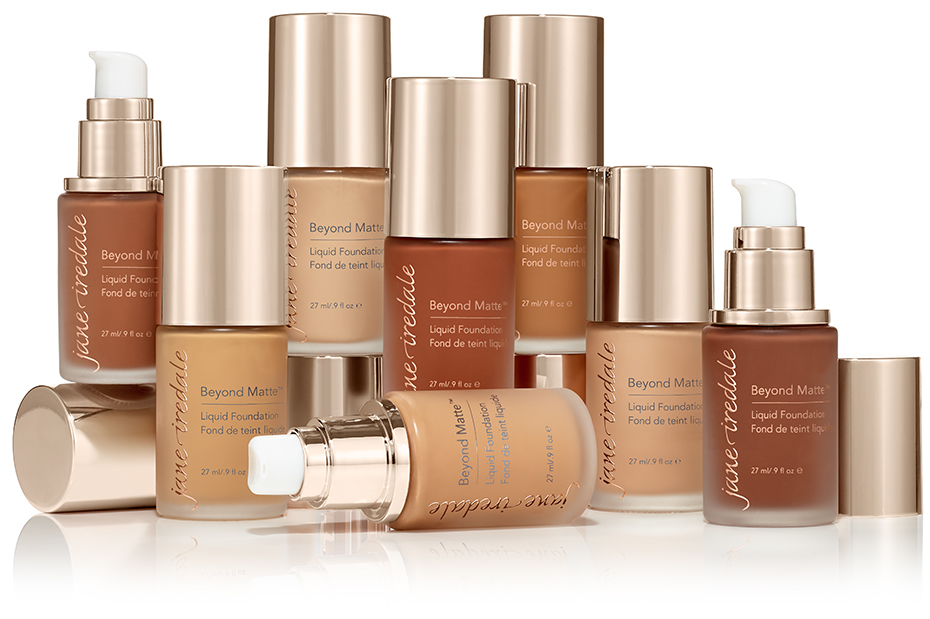 Beyond Matte Liquid Foundation Group Shot Collection Image