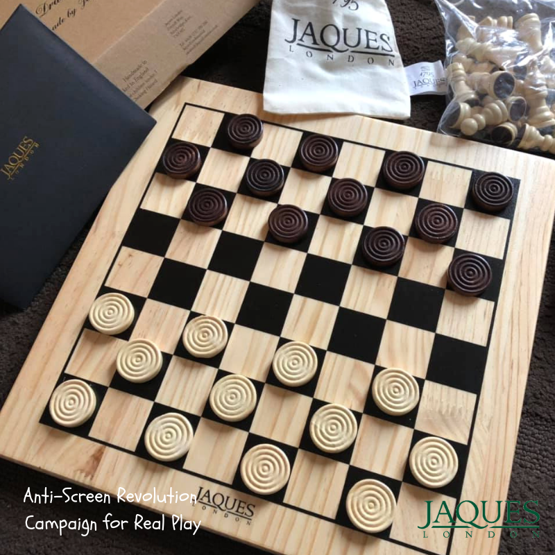 Chess Set Complete with Pieces - Quality Chess Board and Jaques Staunton  Chess Pieces