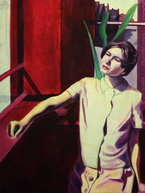 An oil painting by Andrew Jaarecki