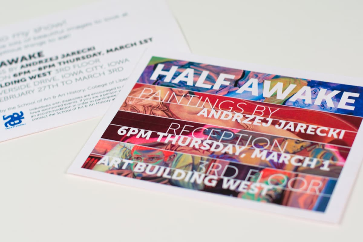 Invitations to the exhibition