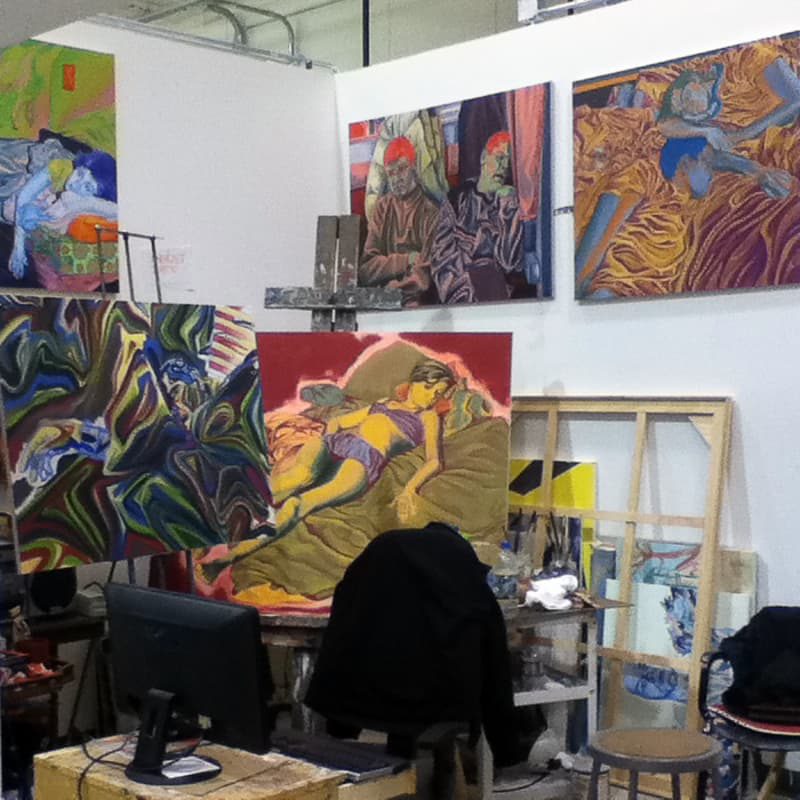 College art studio
