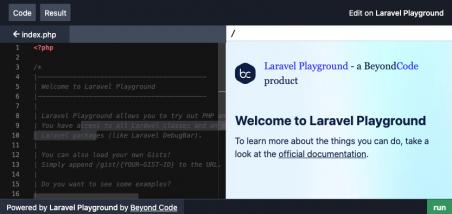 Laravel Playground