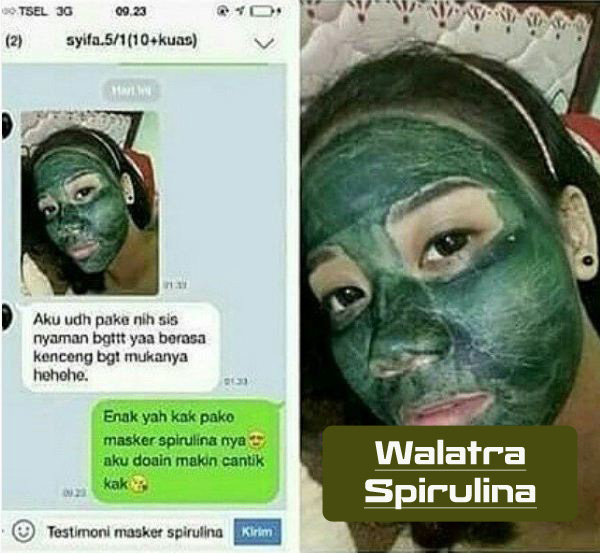 Jual Masker Spirulina di Nias