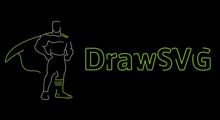 DrawSVG plugin by GreenSock
