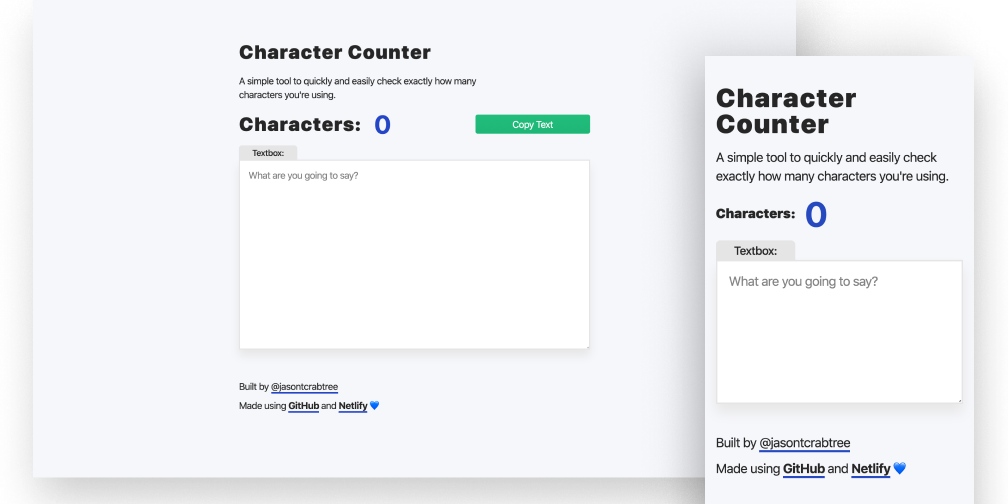 Product Design: Building CharacterCounter, A Typography Tool