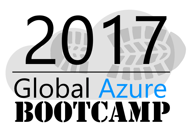 2017 Global Azure Bootcamp Logo