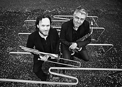 Andy Hunter and Johan Hörlén feat. Adam Nussbaum (Bild © Ruud Bruels)