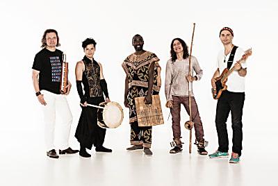 Jazz und Weltmusik im Hofgarten – World Percussion Ensemble (Bild © M. Merk)
