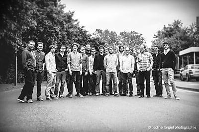 Subway Jazz Orchestra (Bild &copy nadine targiel photographie)