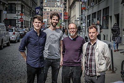 Janning Trumann New York Quartet feat. Drew Gress, Dierk Peters & Jochen Rueckert