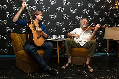 Triadolla – Marius Peters, Klaus der Geiger und Klaus Mages