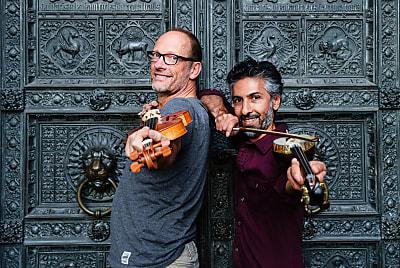 Bassem Hawar & Albrecht Maurer (Bild © Nathalie Daligaux)