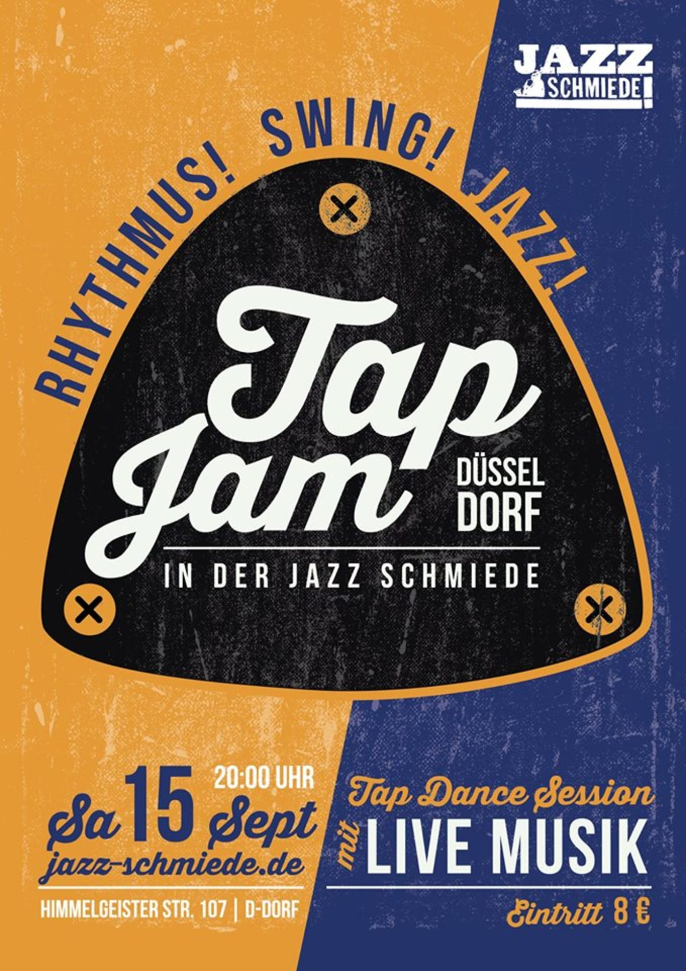 Tap Jam Düsseldorf | Jazz-Schmiede Düsseldorf