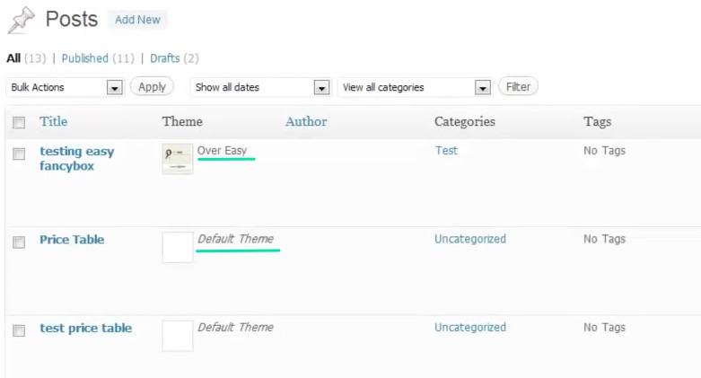 Verschiedene_WordPRess-Themes_gleichzeitig