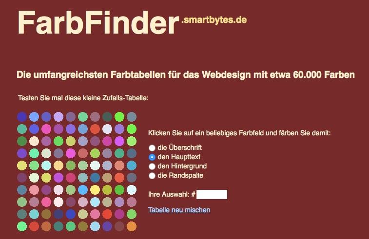 FarbFinder_-_Farbtabellen_für_das_Webdesign