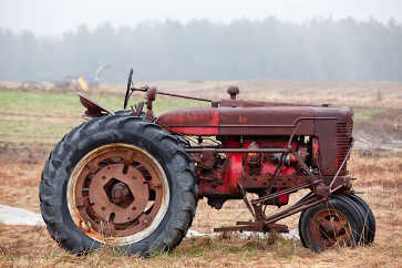 Tractor, Riverside Farm