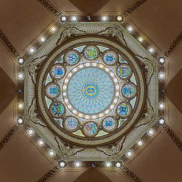 Dome, Massachusetts State House, Boston, MA