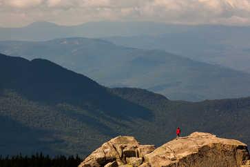Hiker, Mt. Chocorua