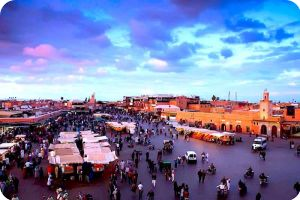 Marrakech Jemaa El Fna Place