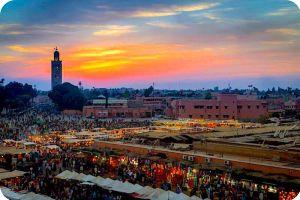 Marrakech Jamaa El Fna Place