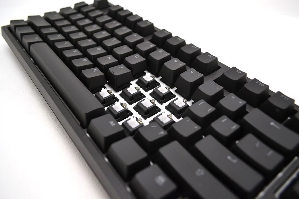 The peculiar case of the malfunctioning keyboard