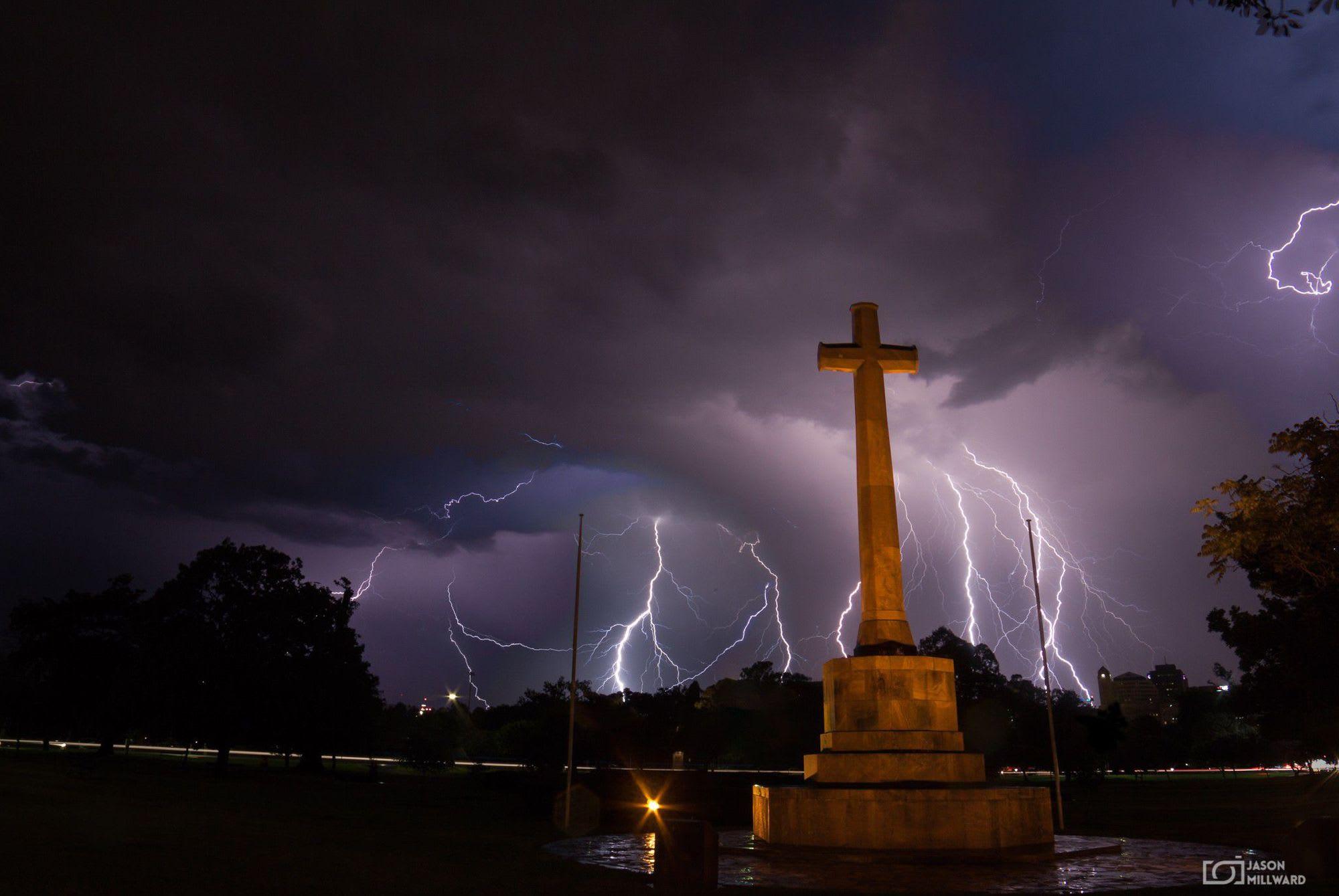 Thunderbolt and lightning