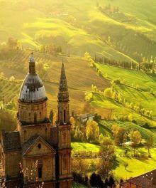 Tuscany building