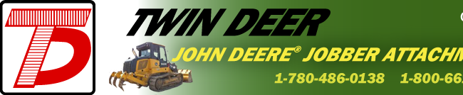 John Deere Attachments Edmonton & Calgary Alberta