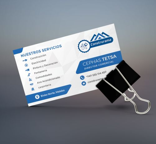 Construrama Business Card