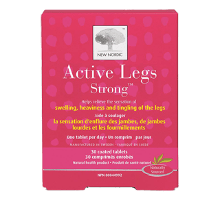 Active Legs Strong Tablets, 30 units – New Nordic : Miscellaneous