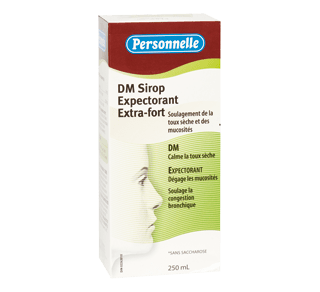 Dry Cough, Phlegm & Mucus Relief, 250 ml – Personnelle