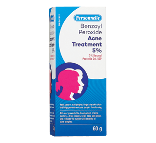 Benzoyl Peroxide Acne Treatment 5 60 G Personnelle Cream