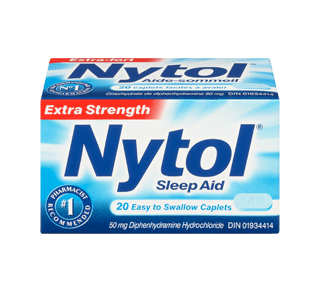 Nytol Sleep Aid, 20 units – Nytol : Sleeping Pill | Jean Coutu