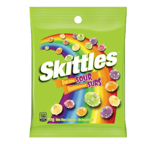 Candies, 151 g, Sour – Skittles : Candy
