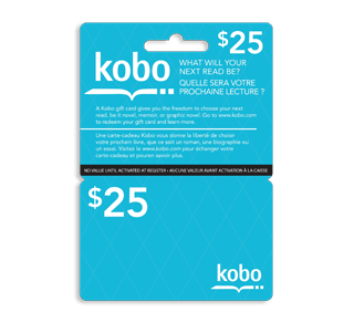 25 Kobo Gift Card 1 Unit Incomm Game Cards Jean Coutu