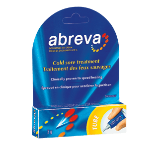 Cold Sore Treatment, 2 g – Abreva : Oral