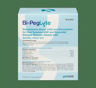 Bi-Peglyte bowel preparation kit, 1 unit – Bi-Peglyte