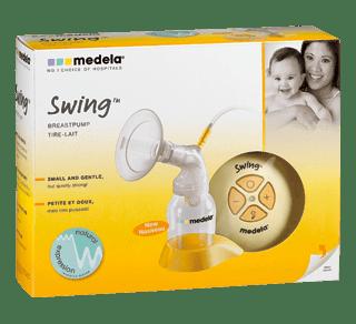 Swing Single Electric Breast Pump 1 Unit Medela Breast