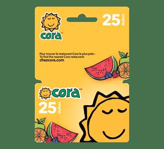 Carte Cora Papier A Fournir.Carte Cadeau Cora De 25 1 Unite Incomm Cartes