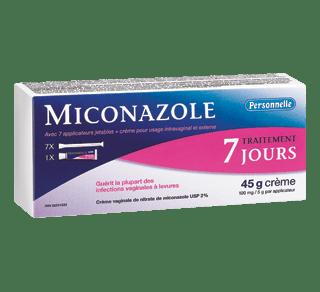 Miconazole traitement 7 jours, 45 g – Personnelle ...