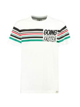 garcia t-shirt met korte mouw h93601 wit