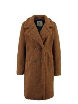 garcia teddy coat gj900907 bruin