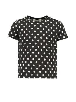 garcia t-shirt met stippen g92408 zwart