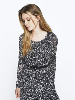 garcia jurk ge000304 zwart