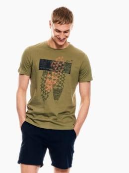 garcia t-shirt groen p01201