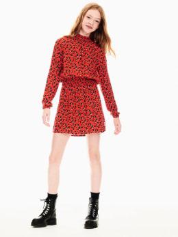garcia jurk rood t02681