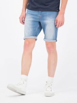garcia denim short blauw